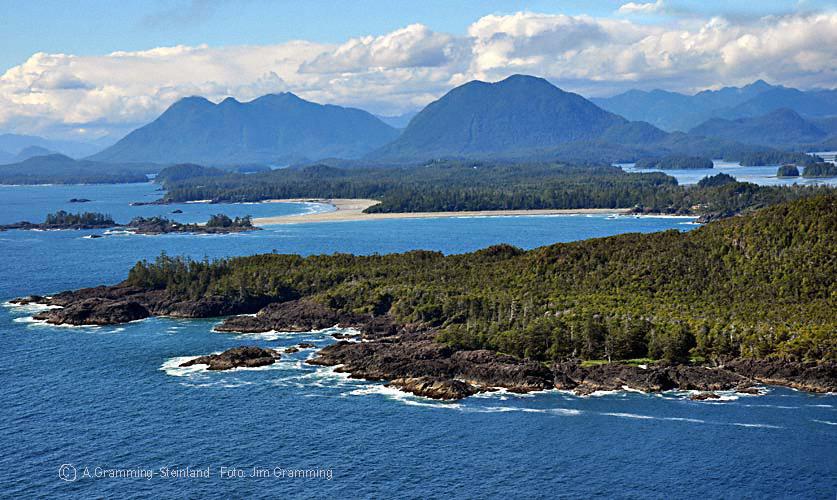 Die Inselwelt vor der Küste Vancouver Islands